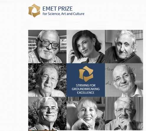 Hebrew University Researchers Bring Home 3 of the 8 EMET Prizes Awarded for 2016