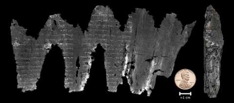The Scroll from Ein-Gedi: A High-Tech Recovery Mission