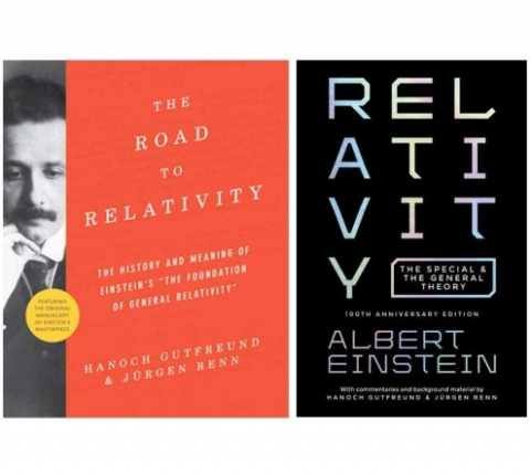 Two New Books Mark 100th Anniversary of Einstein's General Theory of Relativity