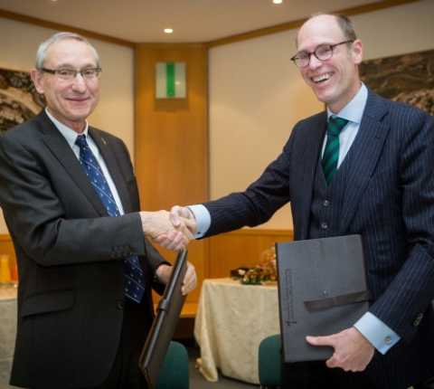 Hebrew University and Freie Universität Berlin Sign Agreement for Joint Doctoral Program as Israel and Germany Mark Fifty Years of Diplomatic Relations