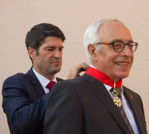 France's Highest Honor Awarded to Hebrew University Vice President, Ambassador Yossi Gal