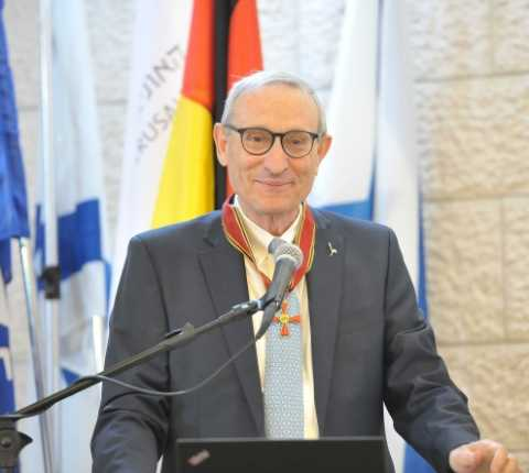 Germany's Order of Merit Awarded to Hebrew University President Menahem Ben-Sasson