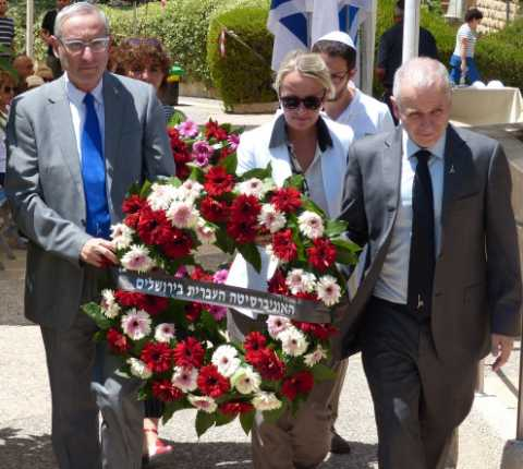 Hebrew University Memorial Service Marks 15 Years Since Attack on Mount Scopus